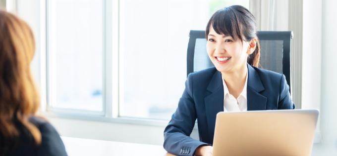 「就職」「転職」「キャリアアップ」に関するご相談を1対1でカウンセリング